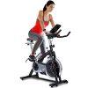 Sportstech Profi Indoor Cycle SX200 mit Smartphone App+Google Street View, 22KG Schwungrad,Armauflage,Pulsgurt kompatibel-Speedbike mit flüsterleisem Riemenantrieb-Fahrrad Ergometer bis 125Kg