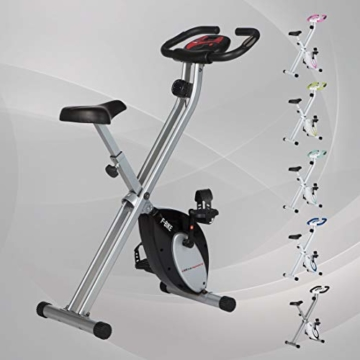Ultrasport F-Bike und F-Rider, Hometrainer, Fitnesstrainer, Sportgerät, idealer Cardiotrainer -